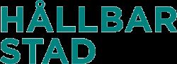 Hållbar Stad logotyp, länk till startsidan