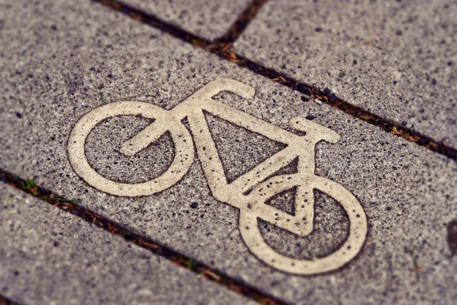 Symbolen för cykelväg